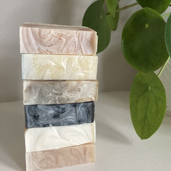 Stack of Various Zenote Soaps