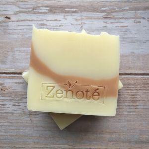 Zenote Orange, Ginger & Clay Soap